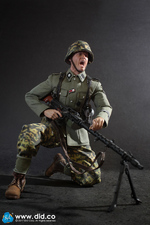 "DID 1/6 Scale 12"" WWII German 3rd Panzer Division Alois Action Figure D80124 D80124"