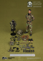 "DAM 1/6 Scale 12"" US Navy Seal Recon Team Marksman Action Figure 93013 93013"