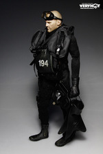 "Very Hot Toys 1/6 Scale 12"" US Navy Seal Halo UDT Jumper Wet Suit Set VH-1041 VH-1041"