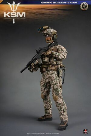 "Soldier Story 1/6 Scale 12"" Kommando Spezialkr�fte Marine VBSS Action Figure SS104 SS-104"