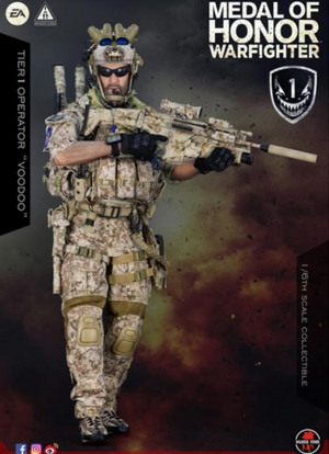 "Soldier Story 1/6 Scale 12"" Medal of Honor Navy SEAL Operator Voodoo Warfighter Action Figure SS-106 SS-106"