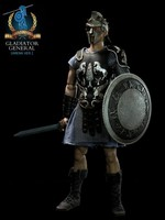 "Pangaea ACI 1/6 scale 12"" Gladiator General Arena Version Action Figure PG02A PG02A"