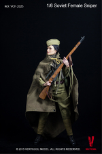 """Very Cool Toys 1/6 Scale 12"""" Soviet Russian Female Sniper Action Figure VCF-2025 VCF-2025"""