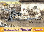 """Dragon Models WWII 1/6 scale for 12"""" Figures German Rocket Launcher Kit 75007 75007"""