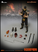 "Worldbox 1/6 Scale 12"" Mortal Kombat Scorpion Action Figure WB-Scorpion"
