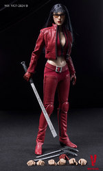 """Very Cool 1/6 scale 12"""" Ultra Female Killer Violet in Red Figure Boxed Set VCF-2024B"""