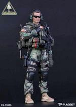 "Flagset 1/6 Scale 12"" US 1st SFOD-D Delta Force Action Figure 73005 FS-73005"