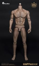 """World Box 1/6 Scale 12"""" Thick Chest & Broad Shoulder Male Caucasian Body AT012 AT012"""