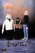 "2011 TTL Toys City 1/6 Scale 12"" Female Action Figure PMC Baby TTL-66009 66009"