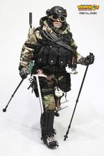 "Very Hot 1/6 Scale 12"" US Navy Seal Polar Mountain Striker Woodland Camo 1038C  VH-1038C"