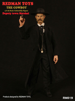 """Redman 1/6 Scale 12"""" The Cowboy Deputy Town Marshal Action Figure RM019 RM019"""