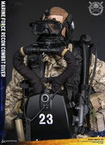 "DAM Toys 1/6 Scale 12"" Marine Force Recon Combat Diver Action Figure 78056 78056"