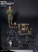 "DAM Toys 1/6 Scale 12"" US Naval Mountain Warfare Special Forces Action Figure 78051 78051"