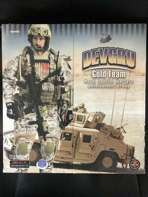 "1/6 Scale 12"" DEVGRU Gold Team Special Warfare SS033 Figure New SS033"