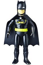 Medicom DC Comics Collectibles Batman Retro Sofubi Action Figure Black Version 4530956531014