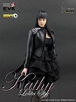 "ZC Girl 1/6 Scale 12"" Lolita Spy Kathy Collectible Female Action Figure Eve Body ZCG-000"