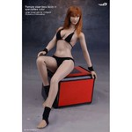 "Phicen 1/6 Scale 12"" Female Body Large Bust Black Bikini Hot Toys Skin 2012-11 PLLB2012-11"