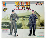 """2000 Dragon Model 1/6 Scale 12"""" WWII German Tiger Aces Bobby & Michael 70050 70050"""