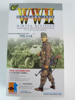 """Dragon 1/6 Scale 12"""" WWII German Hungary 1945 Wiking Division Heinz Figure 70052 70052"""