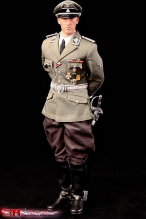 "DID 3R Toys 1/6 Scale 12"" WWII German Obergruppenfuhrer Heydrich Action Figure GM633 GM633"