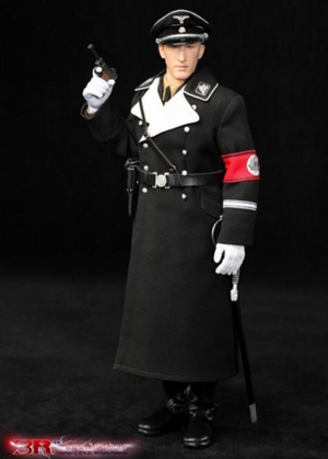 "DID 3R Toys 1/6 Scale 12"" WWII German Operation Anthropoid - Reinhard Heydrich Action Figure GM634 GM634"