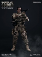 "DAMTOYS BLITZWAY 12"" 1:6 scale UNIVERSAL SOLDIER (Luc Deveraux) Van Damme Action Figure S002"