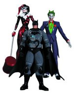 DC Collectibles Hush Batman Stealth Jumper The Joker Harley Quinn Figure 3 Pack 761941316628