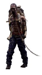 "ThreeZero AMC The Walking Dead Michonne's Pet 1 1/6 Scale 12"" Action Figure 302"