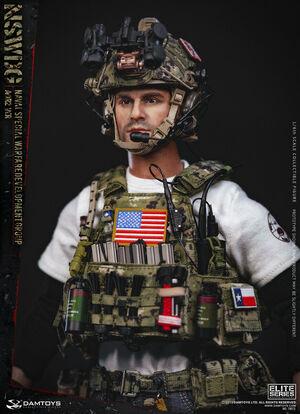 "1/6 Scale 12"" DEVGRU Naval Special Warfare Development Group Figure 78072 78072"