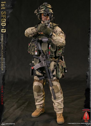 """Dam 1/6 Scale 12"""" 1st SFOD-D Combat Applications Group Team Leader 78077 78077"""
