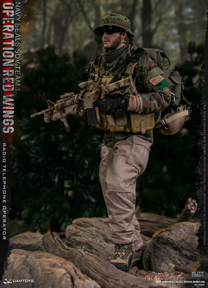"""1/6 Scale 12"""" Operation Red Wings Navy Seal SDV Team 1 Radio Operator 78081"""