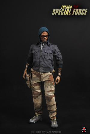 """1/6 Scale Modern French Special Force 12"""" Action Figure SS-085 SS-085"""