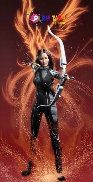 "Play Toy 1/6 Scale 12"" Archer Athletics Girl Action Figure P008 P008"