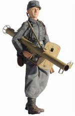 "Dragon 1/6 scale 12"" WWII German Soldier Panzerschreck Werner Krieg Action Figure 70275 70275"