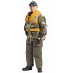 "Dragon Models 1/6 Scale 12"" WWII German Luftwaffe Bomber Pilot Hans Pifer Action Figure #70561 70561"