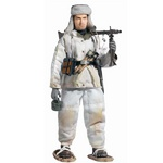 "Dragon Models WWII 1/6 scale 12"" German Soldier MG42 Gunner Pieter Volpert Action Figure 70752 70752"