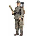 "Dragon WWII 1/6 scale 12"" German Anti-Tank Loader Grenadier Alder Fisher Action Figure 70756 70756"
