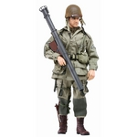 "Dragon 1/6 Scale 12"" US Paratrooper with Bazooka Jim Action Figure 73152 73152"