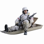 "Dragon 1/6 scale 12"" WWII German MG-34 Gunner w/Sledge Jurgen Kleinheinz Action Figure 70476 70476"