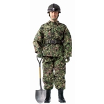 "Dragon Platz 1/6 Scale 12"" Disaster Relief Operation JGSDF Kentaro Kogure 70817 70817"
