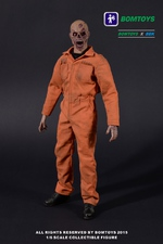 "BBK Bomtoys 16 Scale 12"" Prisoner Zombie Action Figure BT-001 BT-001"