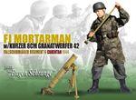 """Dragon Models WWII German 1/6 scale 12"""" Soldier Mortar Eugen Schrange Dark 70277 70277"""
