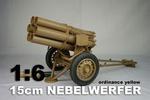 DID 1/6 Scale WWII German 15cm Nebelwerfer Panzar Yellow W60011Y W60011Y