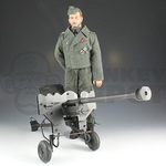 "DID 1/6 Scale 12"" WWII German Peter Greim with a PzB41 Anti-Tank Rifle Action Figure D80032 D80032"