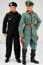 "DID 1/6 Scale 12"" WWII German General Heinz Guderian Action Figure D80056 D80056"