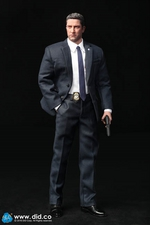 """DID 1/6 Scale 12"""" US Secret Service Special Agent Mark Action Figure MA80119 MA80119"""