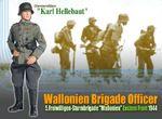 """Dragon 1/6 Scale 12"""" WWII German 1944 East Brigade Officer Karl Hellebaut 70666 70666"""