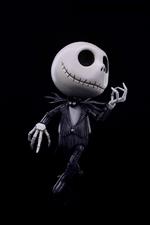 HEROCROSS Disney's - Jack Skellington - Hybrid Metal Figuration Action Figure H00