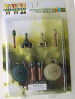 "Dragon WWII German 1/6 scale 12"" Anti-Tank Mine Grenade Weapon Set B 71034 71034"