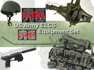 """1/6 Scale 12"""" US Army ELCS Equipment Set 71179 71139"""